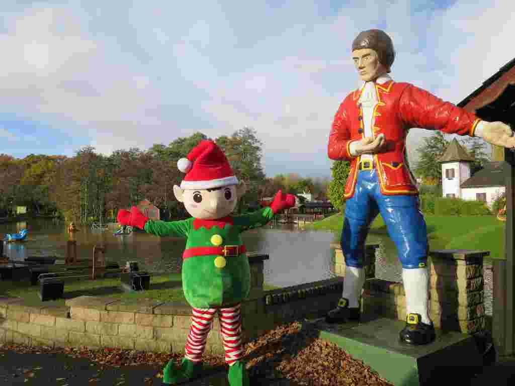 The Forever Elf will be Santa's eyes & ears at Gulliver's theme parks this Christmas